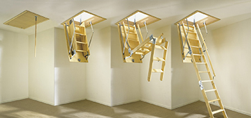 Лестницы чердачные с люком