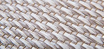 Плетеные виниловые обои