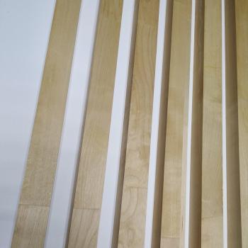 Декоративная рейка Береза 40мм х 60мм