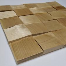 Деревянная 3Д мозаика Колотая Береза