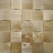 Деревянная 3Д мозаика Призма Береза