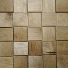 Деревянная 3Д мозаика Вельвет Береза