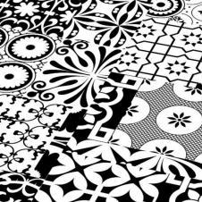Ламинат Falquon коллекция Quadraic Black & White Q002, 32 класс