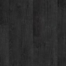 Ламинат влагостойкий Quick Step Impressive, Дуб Чёрная Ночь IM1862, 33 класс