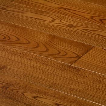Массивная доска Antic Wood  Ясень бренди контур