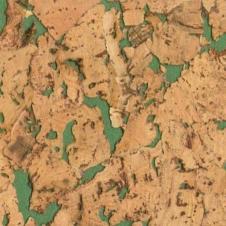 Пробковое настенное покрытие Corksribas Condor Green