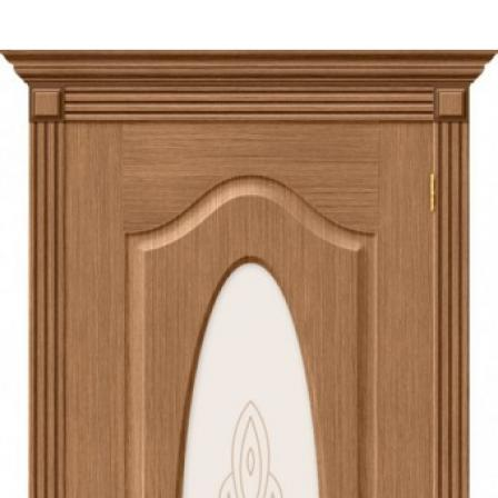 Дверь межкомнатная Bravo Комфорт, Аура стекло