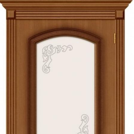 Дверь межкомнатная Bravo Стандарт, Азалия стекло