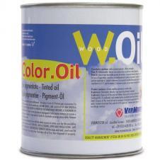 Масляная Тонировка цвет Black (Черный) VerMeister Color Oil, на основе масла для дерева (без воска)