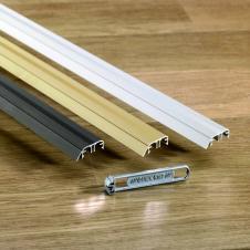 Профиль Quick-Step INCIZO металлический бронзовый 2700x11x47 мм QSINCPRBRONME270