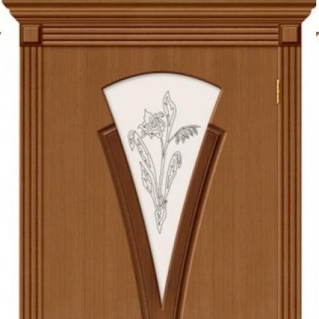 Дверь межкомнатная Bravo Стандарт, Флора стекло