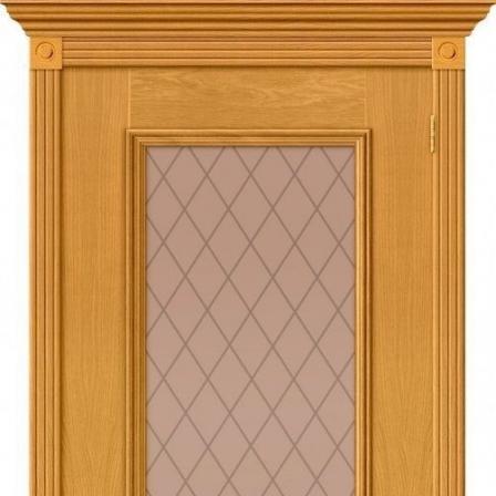 Дверь межкомнатная Bravo Гранд стекло