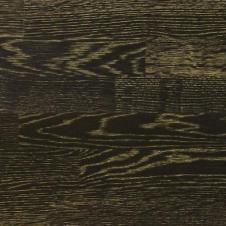 Паркетная доска Tarkett Дуб Черный Золотой (Black Diamond), браш