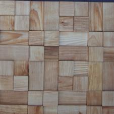 Деревянная 3Д мозаика Кантри Береза