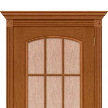 Дверь межкомнатная Bravo Комфорт, Капри-3 Люкс стекло