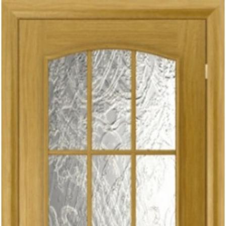Дверь межкомнатная Bravo Комфорт, Капри-4 стекло