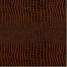 Кожаные клеевые полы СORKSTYLE, Коллекция Leather CS, Kroko Redbrown, 31 класс