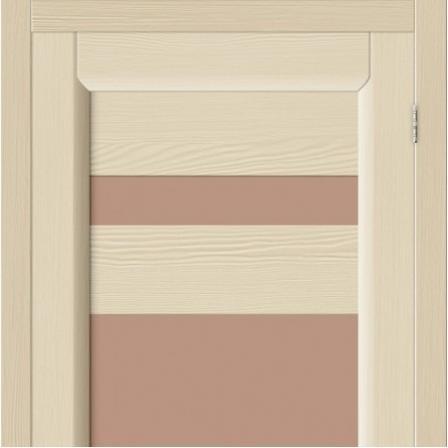 Дверь межкомнатная Bravo, Леон стекло