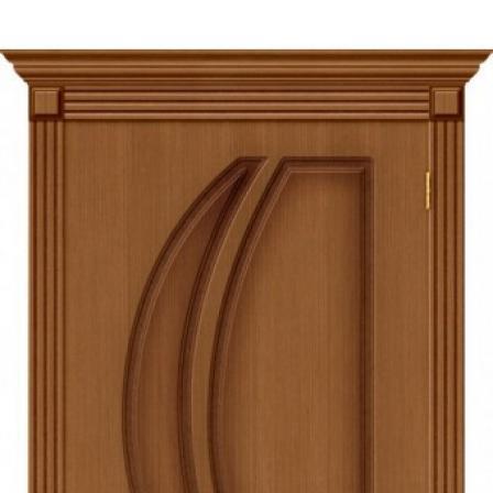 Дверь межкомнатная Bravo Стандарт, Лилия