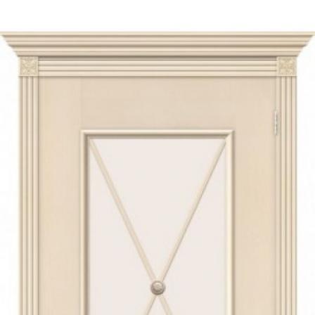 Дверь межкомнатная Bravo Луи II стекло