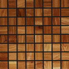 Мозаика из дерева Плоская Дуб натуральный