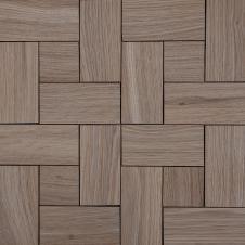 Деревянная 3Д мозаика Паркет Дуб