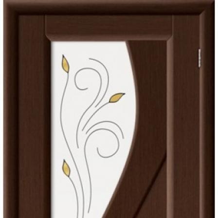 Дверь межкомнатная Bravo Комфорт, Сандро стекло