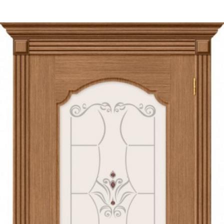 Дверь межкомнатная Bravo Комфорт, Селена стекло