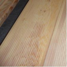 Террасная доска из лиственницы вельвет сорт B