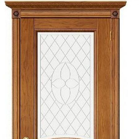 Дверь межкомнатная Bravo Элит, Валенсия стекло