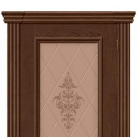 Дверь межкомнатная Bravo Вена стекло