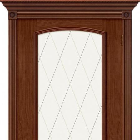 Дверь межкомнатная Bravo Элит, Верона Деканте стекло