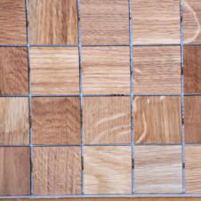 Деревянная 3Д мозаика Плитка Ясень