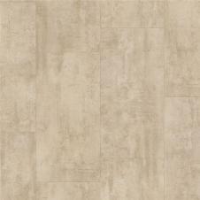 Виниловая плитка  Quick-Step Ambient Glue Plus Vibrant Травертин крем AMGP40046, плитка